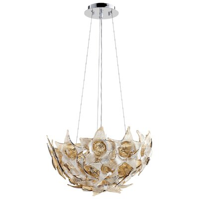 Moon Lillie 1-Light Inverted Pendant