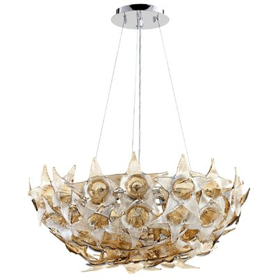 Moon Lillie 7-Light Inverted Pendant