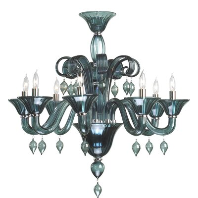 Treviso 8-Light Candle-Style Chandelier