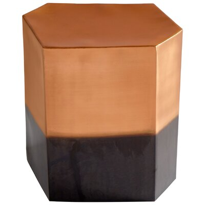 Golden Hunk End Table