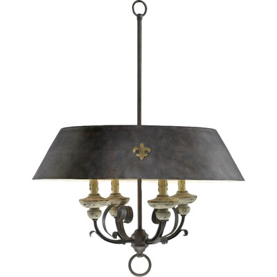 Provence 4-Light Drum Pendant