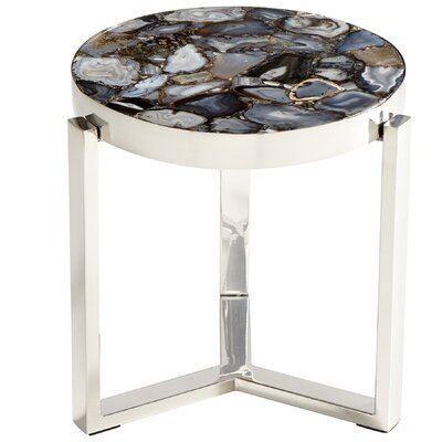 Geodance End Table