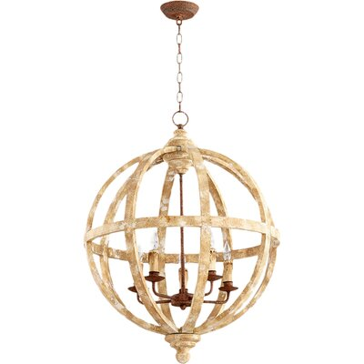 Landon 5-Light Globe Pendant