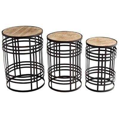 Banded About 3 Piece Nesting Tables