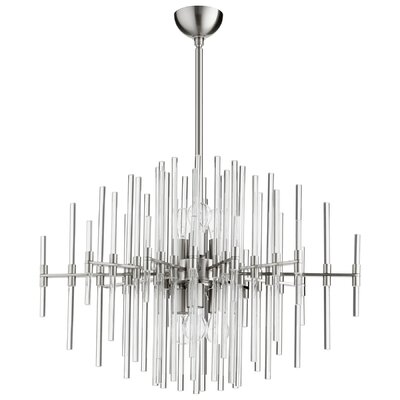 Quebec 6-Light Sputnik Chandelier Finish: Satin Nickel