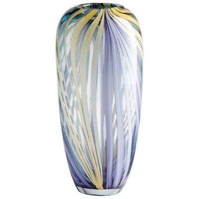 """Rhythm Table Vase Size: 12"""" H x 5.75"""" W x 5.75"""" D 9178"""