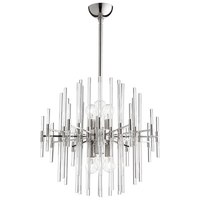 Quebec 6-Light Sputnik Chandelier Size: 24.75 H x 22.25 W x 22.25 D