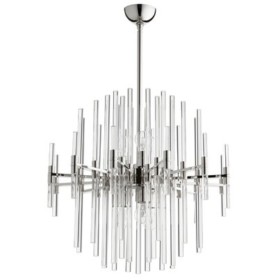 Quebec 6-Light Sputnik Chandelier Size: 26.75 H x 26.25 W x 26.25 D