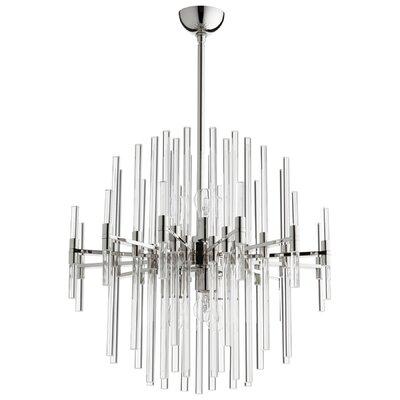 Quebec 6-Light Sputnik Chandelier Size: 26.75