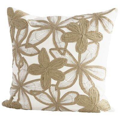 Flora Abundance Decorative Cotton Throw Pillow