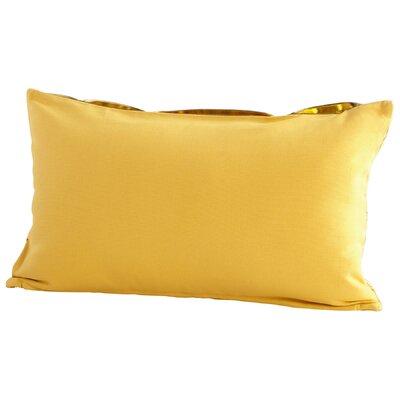 Bow Decorative Cotton Lumbar Pillow