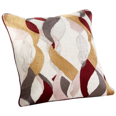 Helix Decorative Cotton Throw Pillow