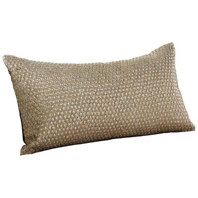 Studded Bolt Decorative Lumbar Pillow