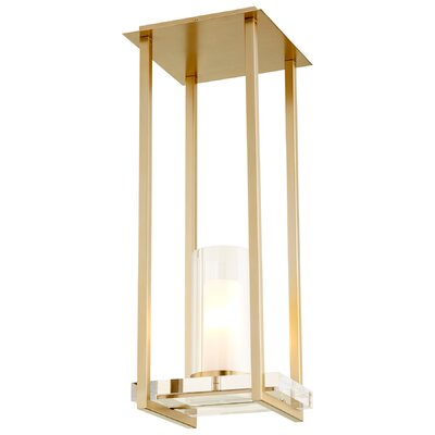 Orion 1-Light Mini Pendant Finish: Aged Brass