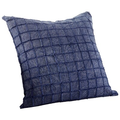 Square Away Decorative Cotton Throw Pillow