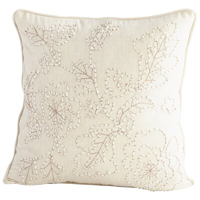 Heirloom Garden Decorative Cotton Throw Pillow