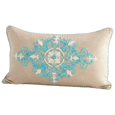 Damascus Decorative Cotton Lumbar Pillow