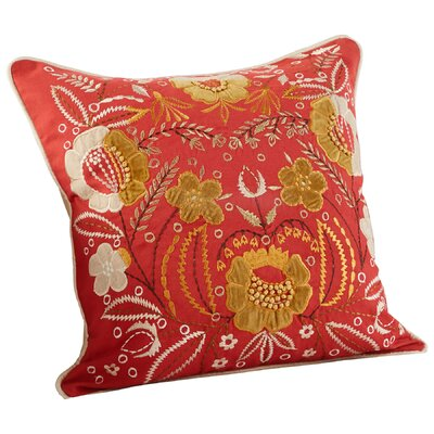 Frida Decorative Cotton Throw Pillow
