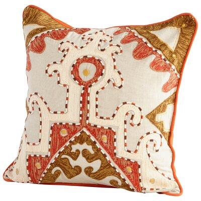 Temple Decorative Cotton Throw Pillow