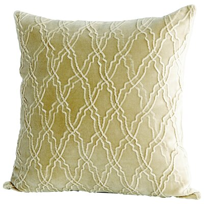 Rivori Decorative Cotton Throw Pillow Color: Sage