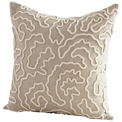 Doodle Decorative Cotton Throw Pillow
