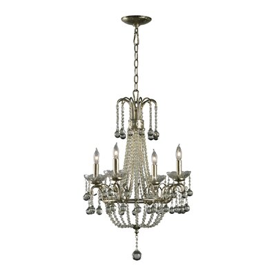 Genevieve 4-Light Candle-Style Chandelier
