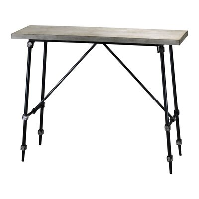 Cheap Cyan Design Doris Console Table in Ivory and Black (VYQ1583)