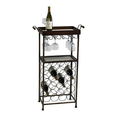 New York 20 Bottle Floor Wine Rack