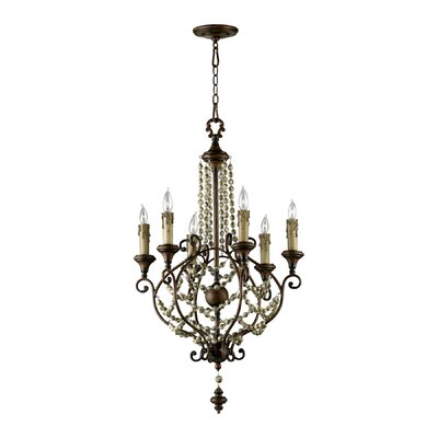 Meriel 6-Light Candle-Style Chandelier