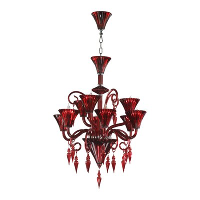 Andretti 9-Light Candle-Style Chandelier