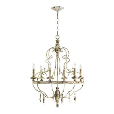 Davinci 6-Light Candle-Style Chandelier