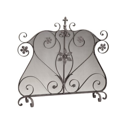 Credit for Sofina Iron Fireplace Screen...
