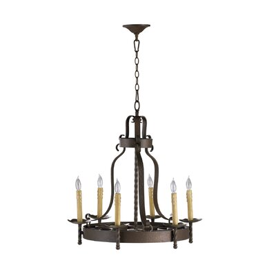 Turner 6-Light Candle-Style Chandelier