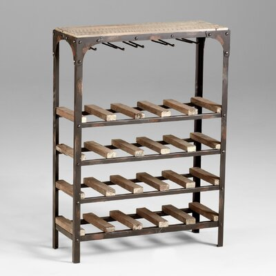 20 Bottle Floor Wine Rack