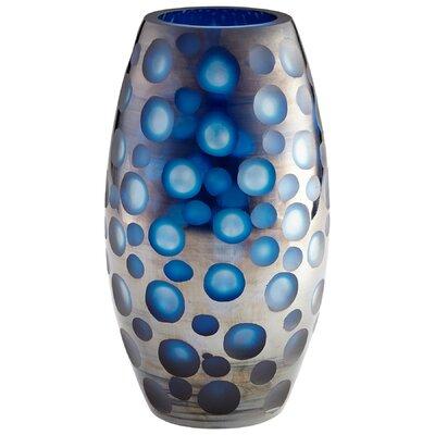 """Quest Table Vase Size: 12.5"""" H x 6.75"""" W x 6.75"""" D 09461"""