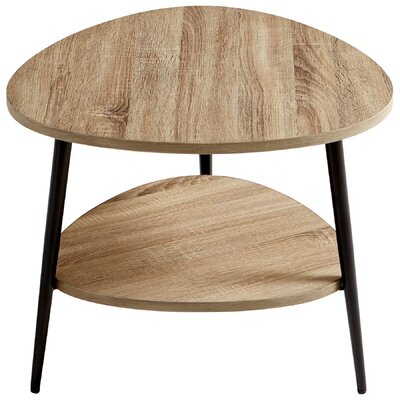 Moon Shot End Table Size: 23.75 H X 23.75 W X 19.75 D