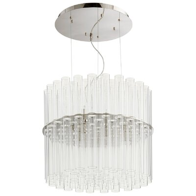Beaker 12-Light Crystal Pendant