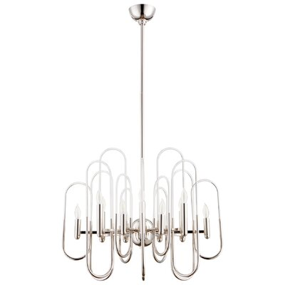 Champ-Elysees Candle Style Chandelier Size: 22 H x 26 W x 26 D