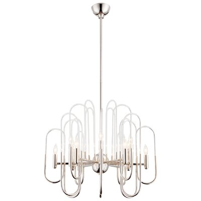 Champ-Elysees Candle Style Chandelier Size: 22 H x 26.25 W x 16 D