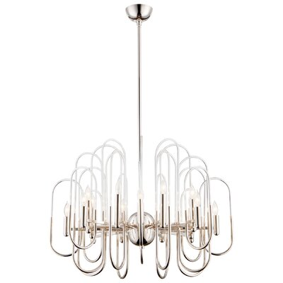 Champ-Elysees Candle Style Chandelier Size: 32.5 H x 30 W x 30 D