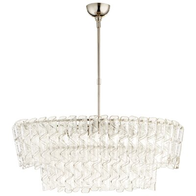 Cannoli 8-Light Crystal Chandelier