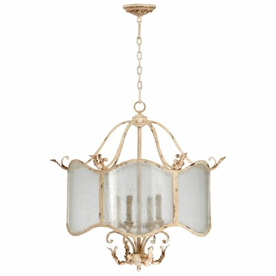 Maison 4-Light Shaded Chandelier