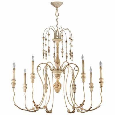 Maison 8-Light Candle-Style Chandelier