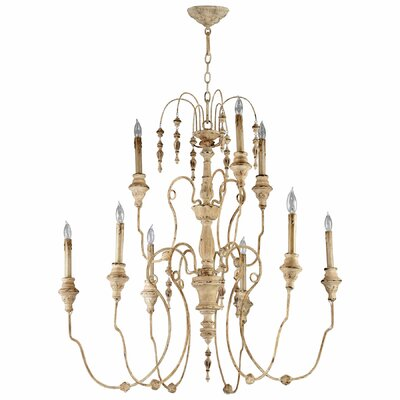 Maison 9-Light Candle-Style Chandelier