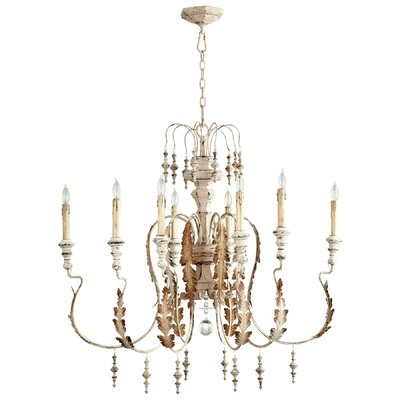 Motivo 8-Light Candle-Style Chandelier