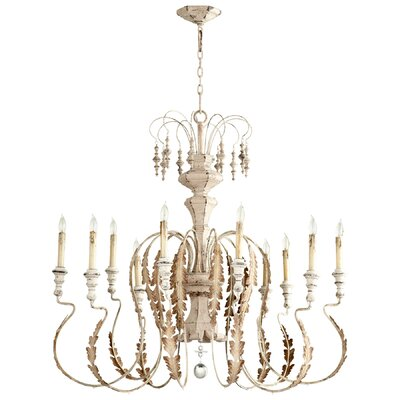 Motivo 10-Light Candle-Style Chandelier