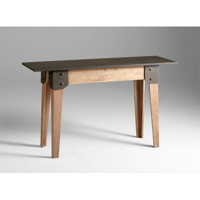 Mesa Raw Table in Iron and Natural Wood