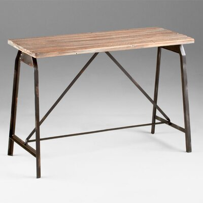Image of Cyan Design Laramie Console in Raw Iron and Natural Wood (VYQ3043)