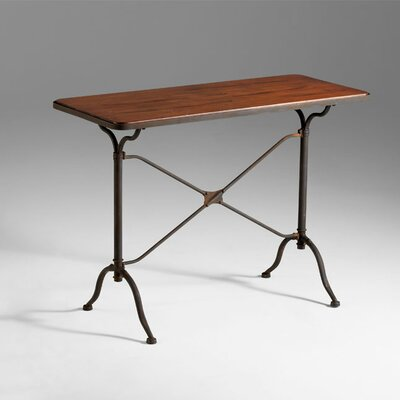 Image of Cyan Design Sydney Console Raw Iron and Natural Wood (VYQ2985)