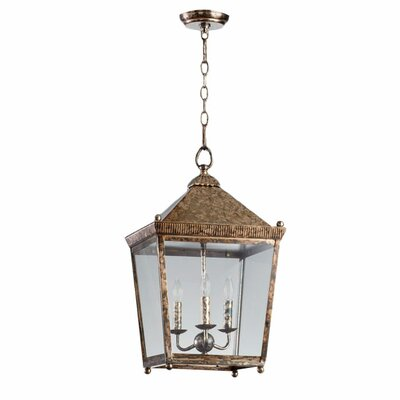 Ranch House 3-Light Lantern
